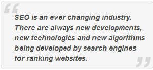 SEO is everchanging